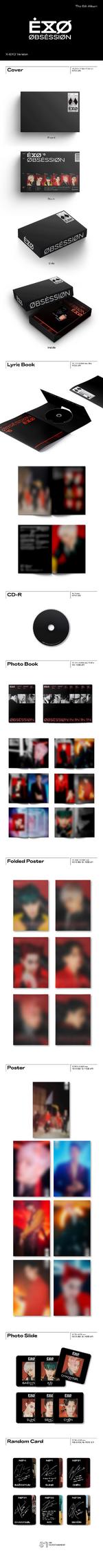 EXO Obsession Album Details X-EXO Ver.