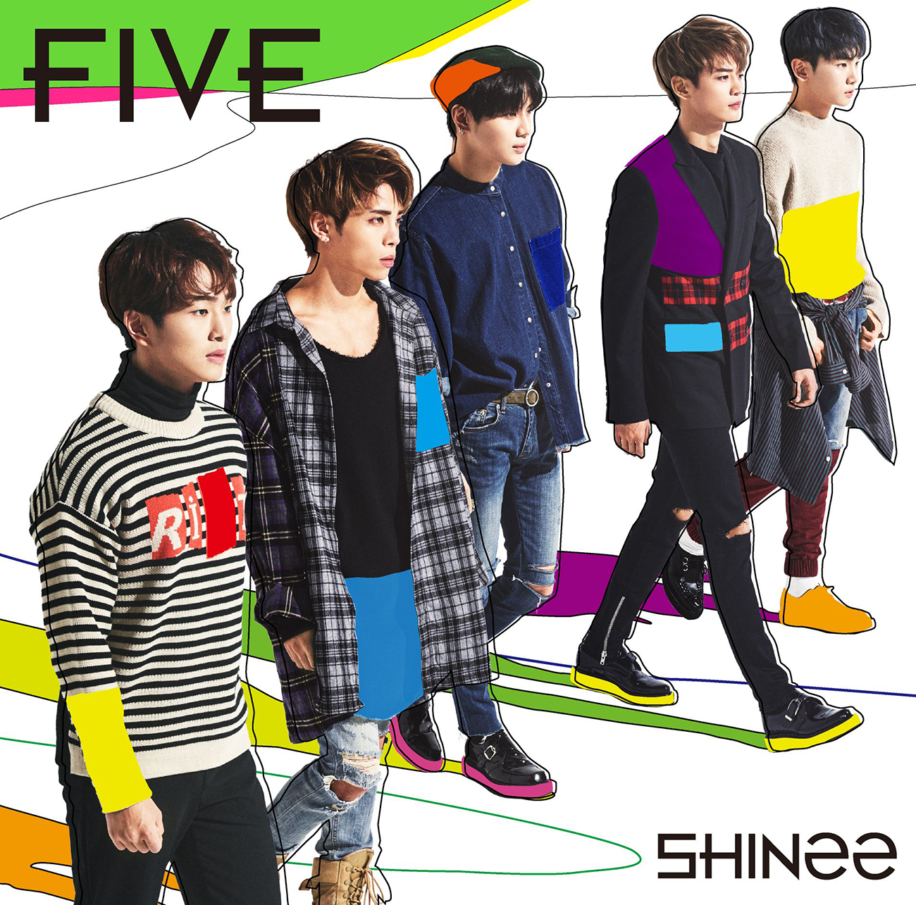 SHINee FIVE cover.png