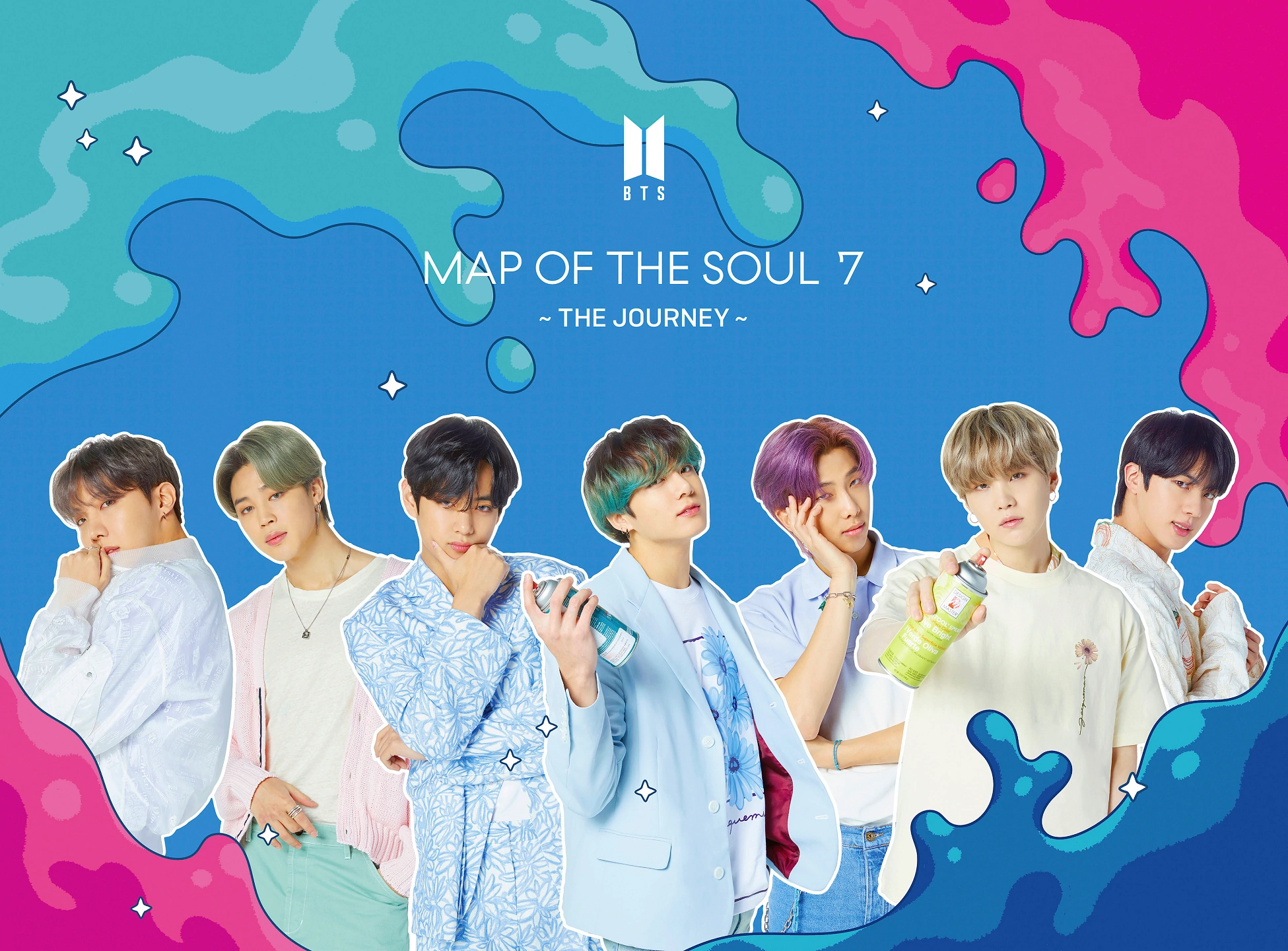 BTS Map of the Soul 7 The Journey Limited Edition B album cover.png