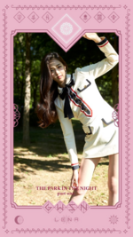 GWSN THE PARK IN THE NIGHT part one Lena teaser