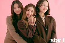 STAYC Isa Sumin J Star1 November 2020 Issue