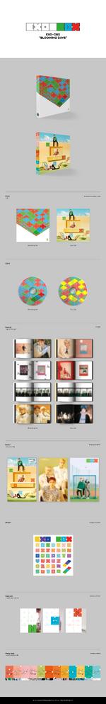 EXO-CBX Blooming Days album details