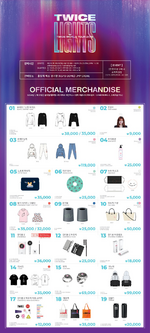 TWICE TWICELIGHTS Seoul merchandise 1