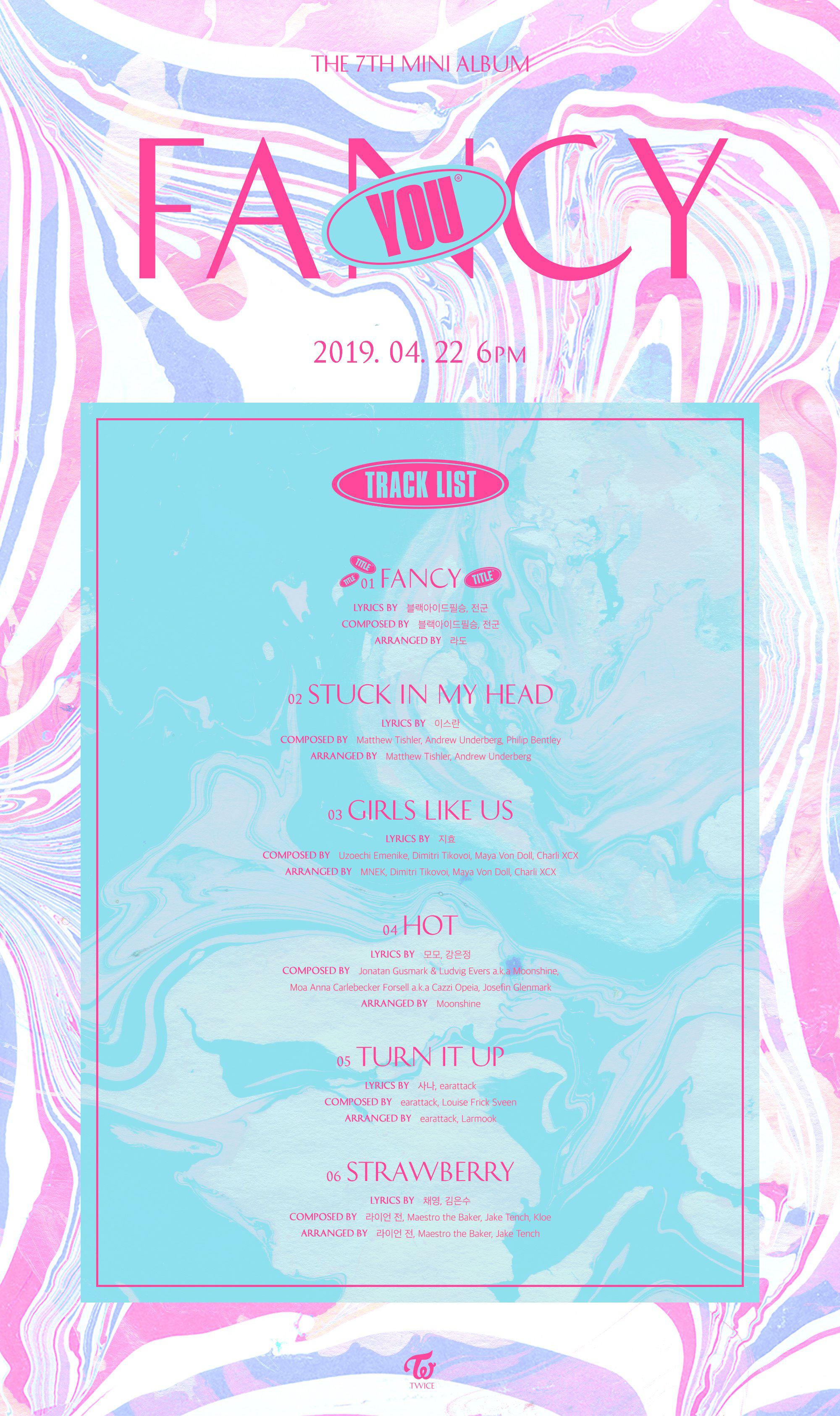 TWICE Fancy You tracklist.png