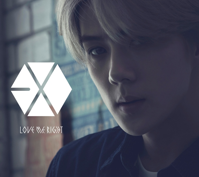 EXO Love Me Right Romantic Universe Sehun edition cover.png