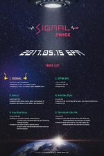 TWICE Signal track list
