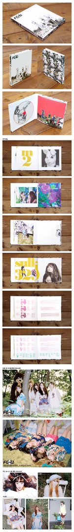 F(x) Electric Shock album packaging detail