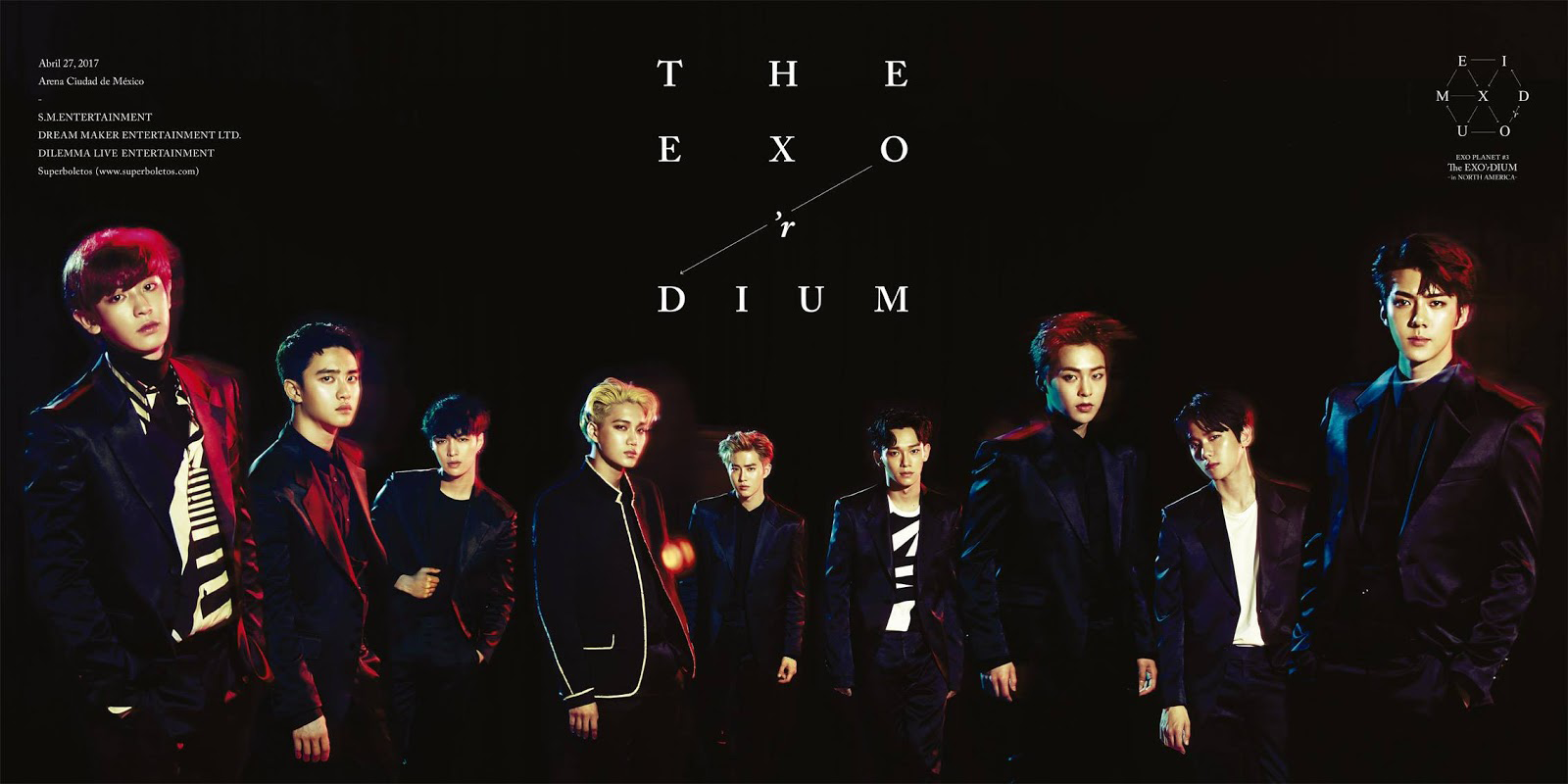 EXO The EXO'rdium Mexico poster.png