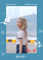@loonatheworld on Twitter - Happy Kim Lip Day (February 10, 2019)