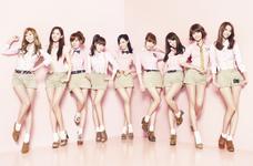 Girls' Generation Gee Japan promotional photo