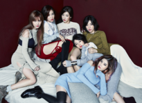 T-ARA And & End group photo
