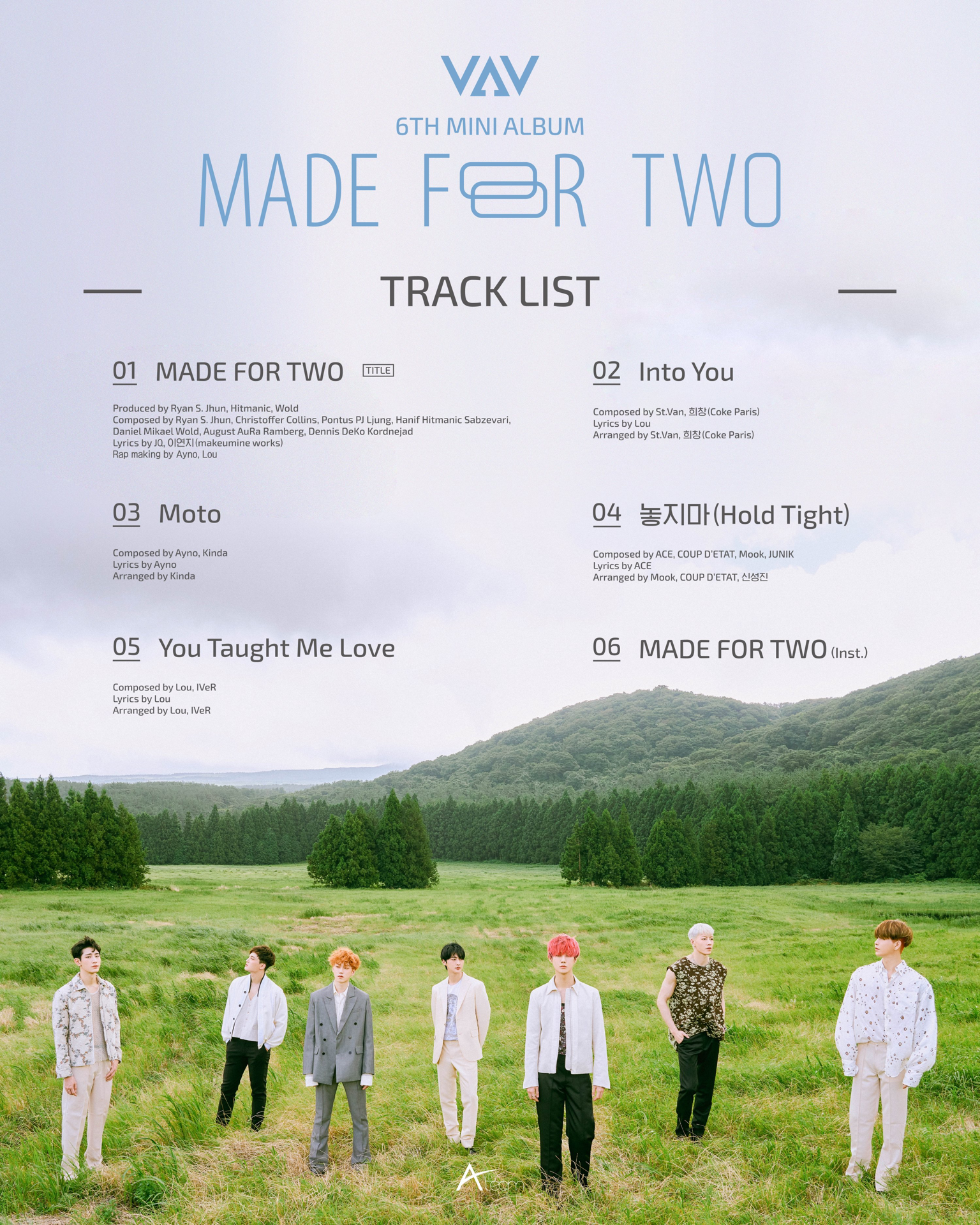 VAV Made For Two track list.png