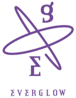 EVERGLOW -77.82X-78.29 official group logo