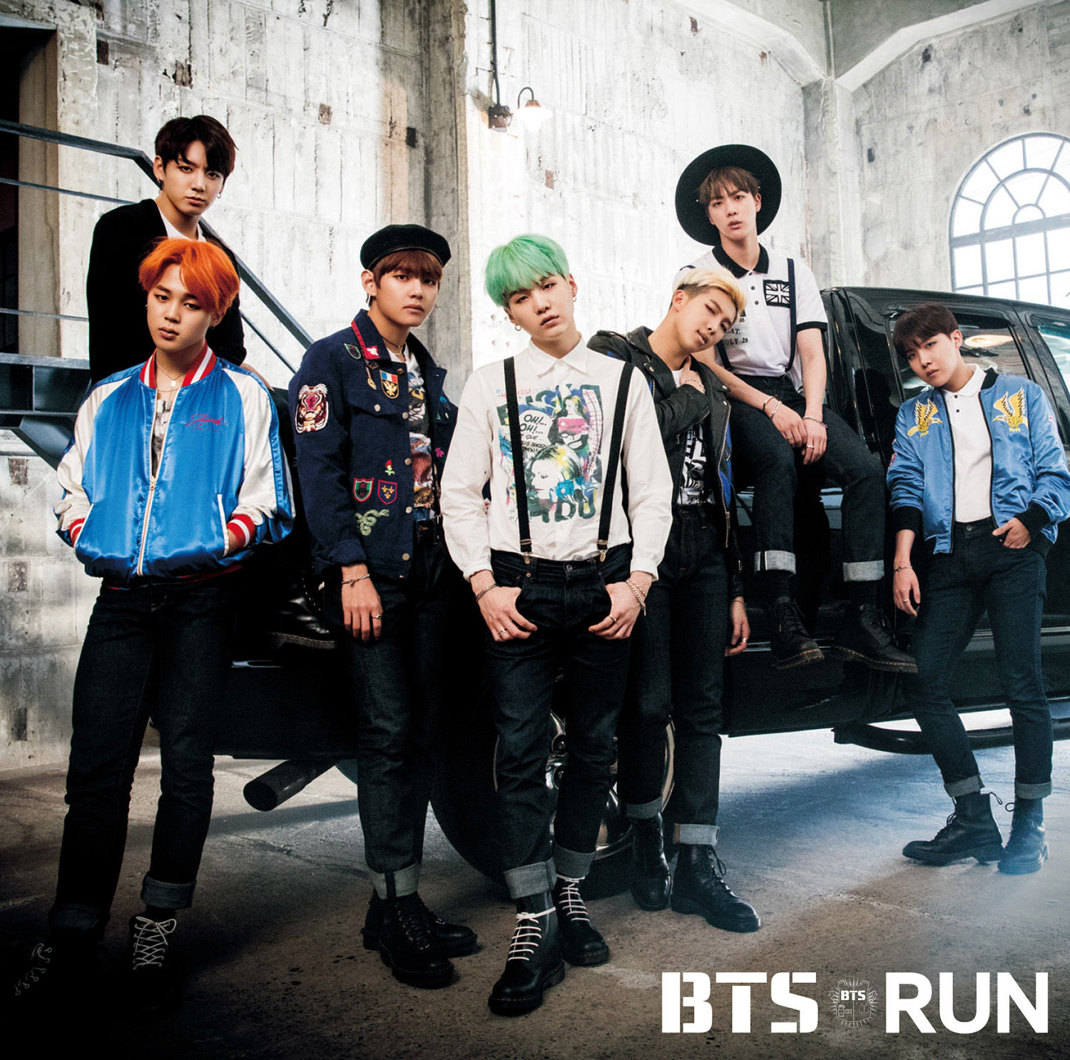 BTS Run Japan Single Regular Edition.png