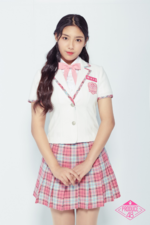 Han Cho Won Produce 48 promotional photo