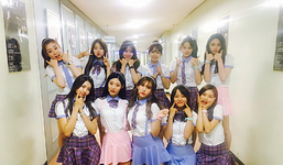 IOI Music Bank First Public Appearance Twitter