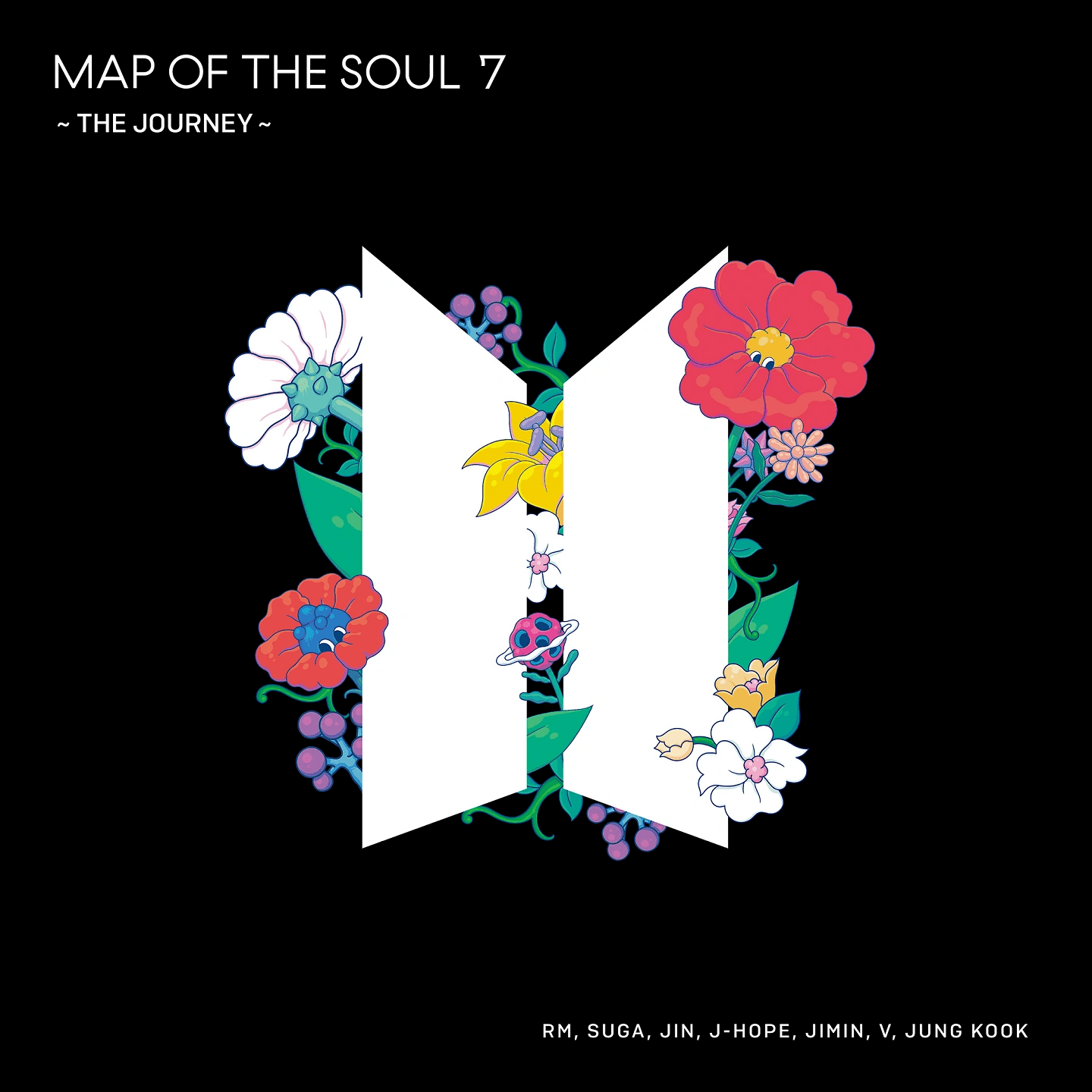 BTS Map of the Soul 7 The Journey Normal Edition album cover.png