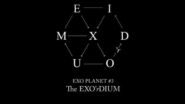 EXO Planet -3 The EXO-rdium Concert Logo.png