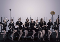 Girls' Generation Mr. Taxi promotional photo