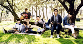 2PM Member's Selection group promo photo