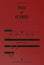 TWICE of October & 5th anniversary timeline