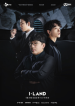 I-LAND producers poster