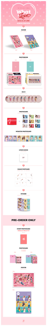 TWICE What is Love album preview photo