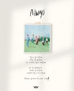 "VAV Always ""Always"" lyrics image"