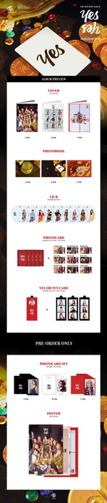 TWICE Yes or Yes album packaging preview