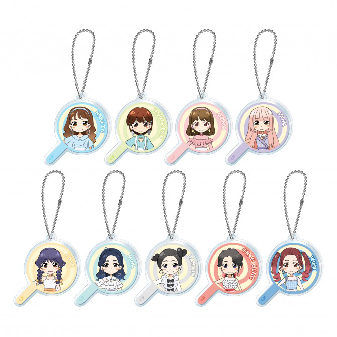TWICE Candy Pop Cafe Acrylic Keychain.png