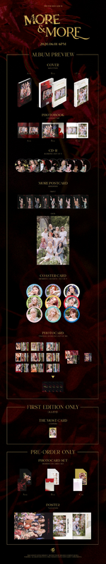 TWICE More & More album packaging