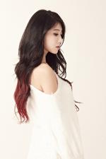 Nine Muses Hyuna Glue promo photo