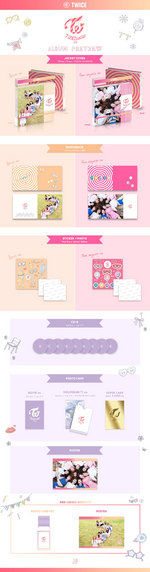 TWICE TWICEcoaster Lane 1 album packaging