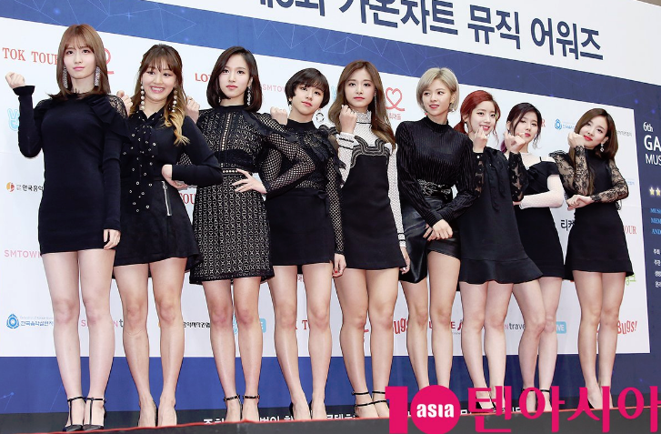 TWICE 6th Gaon Chart Awards Red Carpet1.png