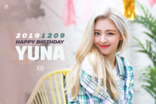 ITZY Yuna Birthday Poster 2019