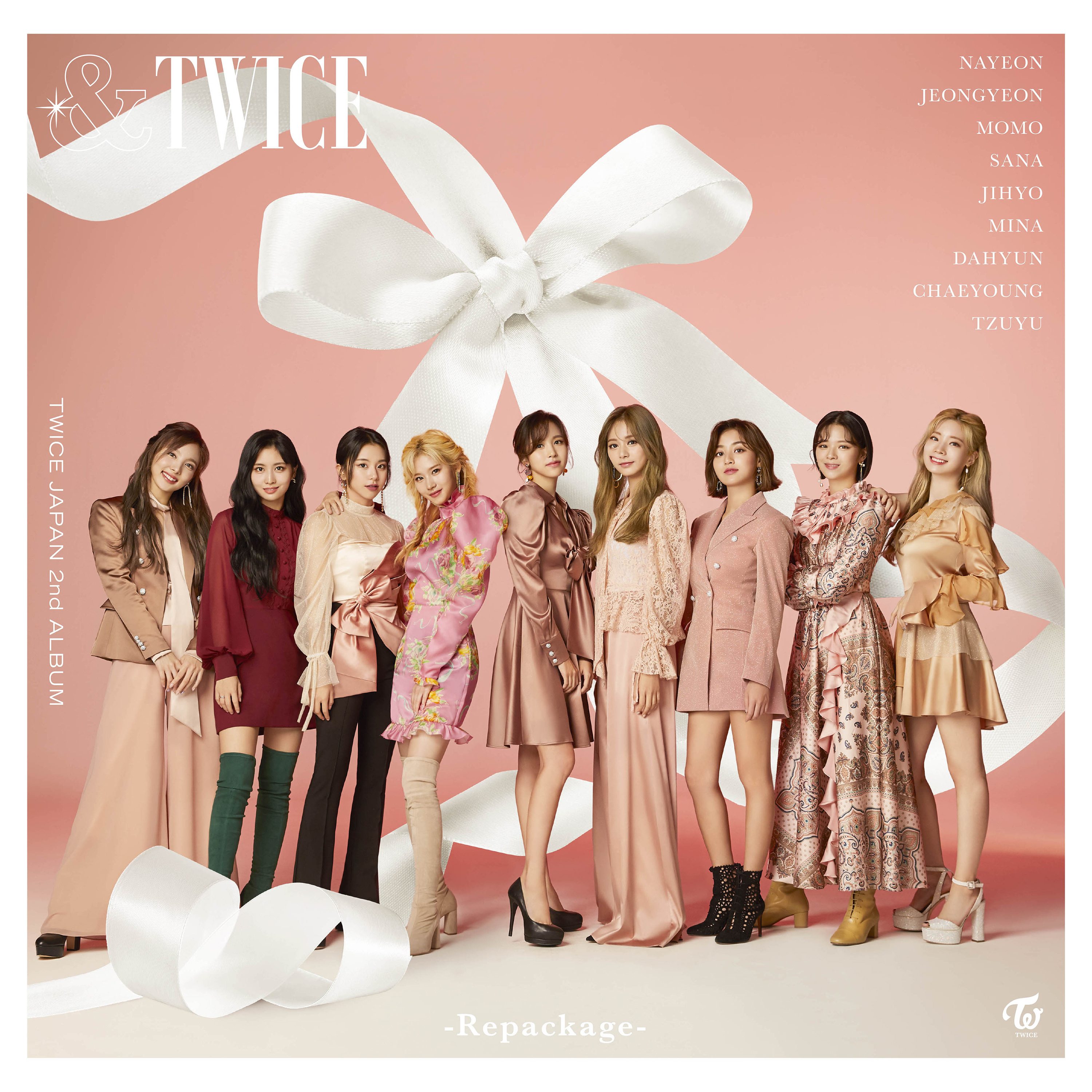 TWICE &TWICE Repackage album cover (Regular Ed.).png