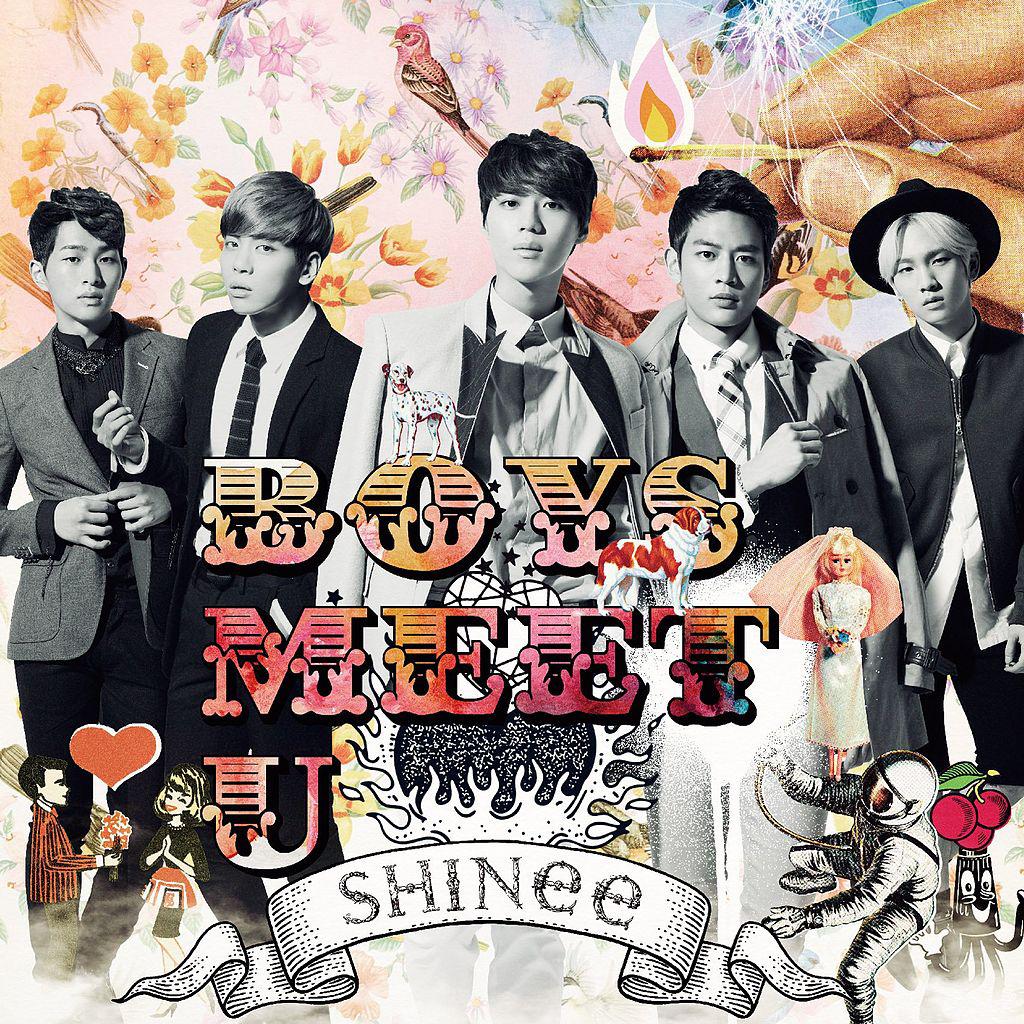 SHINee - Boys Meet U album cover.png