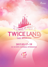 TWICEland Poster