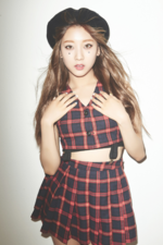 CLC Seungyeon NU.CLEAR promotional photo