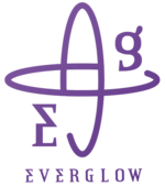 EVERGLOW Reminiscence official group logo