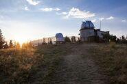 17 Obserwatorium astronomiczne na Suhorze (1000 m n.p.m.) w Gorcach