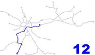 Krakow new tram line 12