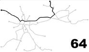 Krakow tram line 64 cropped