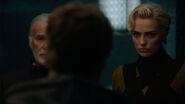 Val-El & Nyssa-Vex talk with Adam Strange
