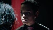 Lyta-Zod interrogates Raika
