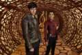 Seg-El and Lyta-Zod promo image 2