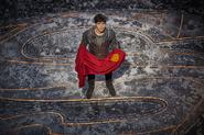Seg-El with Superman's cape promo image 1
