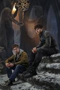 Adam Strange and Seg-El promo image