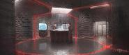 Fort Rozz's war room concept artwork