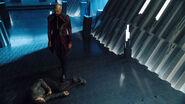General Zod knocks out Seg-El